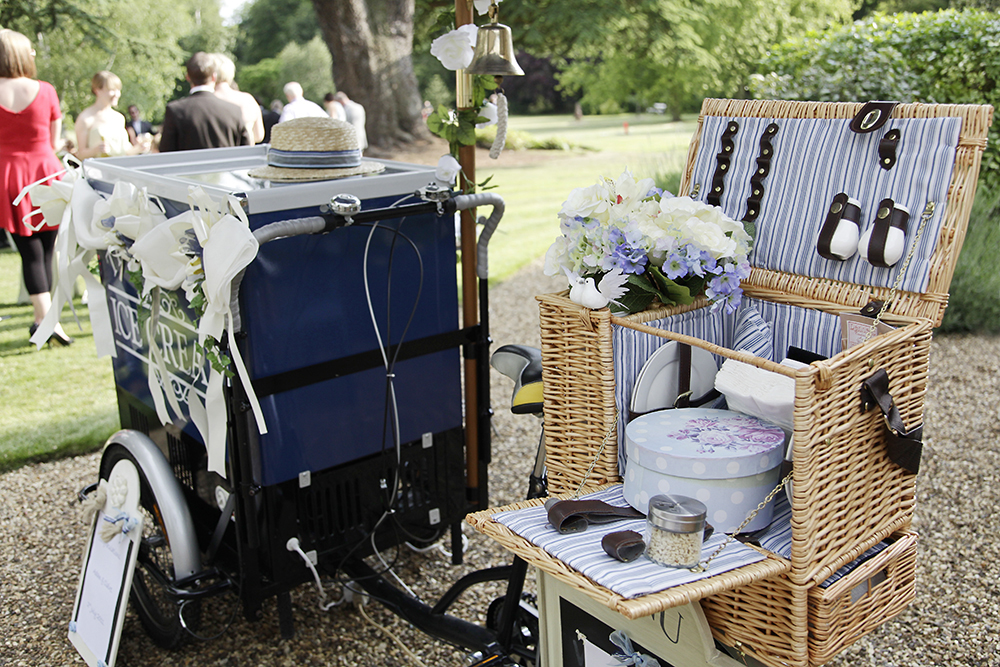 Ice Cream Bicycles for Weddings | Ice Cream Dreams